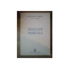 EDUCATIE MUZICALA de CONSTANTIN A. IONESCU , 1986