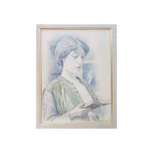 Edward Grenet (1856–1922) - La Liseuse