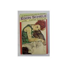 EGON SCHIELE , LIVRE , CARTES POSTALES , 30 REPRODUCTION D ' ART EN COULEUR , 1990