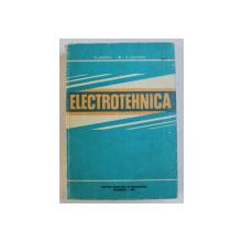 ELECTROTEHNICA , PENTRU SUBINGINERI de ANTON SAIMAC si CONSTANTIN CRUCERU , 1981