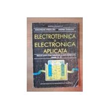 ELECTROTEHNICA SI ELECTRONICA APLICATA de GHE. FRATILOIU , ANDREI TUGULEA , 1995