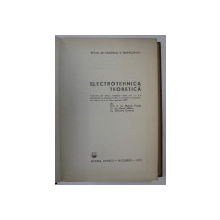 ELECTROTEHNICA TEORETICA de KAROLY SIMONYI , Bucuresti 1974