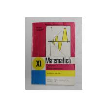 ELEMENTE DE ANALIZA MATEMATICA , MANUAL PENTRU CLASA A XI -A de GH. GUSSI ..T. STOICA , 1994 , COPERTA BROSATA
