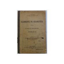 ELEMENTE DE GEOMETRIE PENTRU CLASA A III-a SECUNDARA (PROGRAMELE DIN 1908) de I. TUTUC, 1909