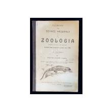 ELEMENTE DE STIINTE NATURALE, ZOOLOGIA PENTRU CLASA I SECUNDARA de A. BADARAU - IASI, 1908-1909