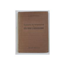 ELEMENTE DE TERAPEUTICA IN OTO-RINO - LARINGOLOGIE de Dr. DAN MAYERSOHN , 1958