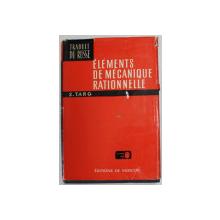 ELEMENTS DE MECANIQUE RATIONNELLE de S. TARG