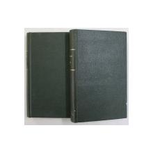 EMILE OU DE L 'EDUCATION par JEAN - JACQUES ROUSSEAU , VOLUMELE I - II , 1924
