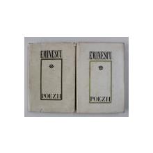 EMINESCU , POEZII , VOLUMELE I - II , EDITIE CRITICA de D. MURARASU , 1978