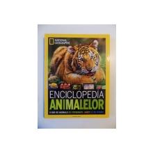 ENCICLOPEDIA ANIMALELOR , 2500 DE ANIMALE CU FOTOGRAFII , HARTI SI NU NUMAI de LUCY SPELMAN , 2013