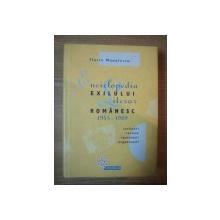 ENCICLOPEDIA EXLULUI LITERAR ROMANESC 1945-1989 de FLORIN MANOLESCU , 2003