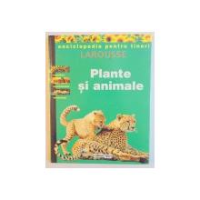 ENCICLOPEDIA PENTRU TINERI : PLANTE SI ANIMALE , 1998