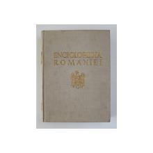 ENCICLOPEDIA ROMANIEI , VOLUMUL III - ECONOMIA NATIONALA , CADRE SI PRODUCTIE , 1941 , LIPSA PORTRETE  SI PAGINA DE TITLU *