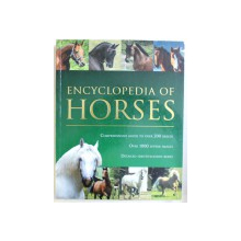 ENCYCLOPEDIA  OF HORSES  - COMPREHENSIVE GUIDE TO OVER 200 BREEDS - OVER 1000 SUPERB IMAGES  - DETAILED IDENTIFICATION BOXES by DEBBY SLY , 2008