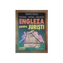 ENGLEZA PENTRU JURISTI de MICHAEL BROOKES , DAVID HOLDEN , WESLEY HUTCHINSON