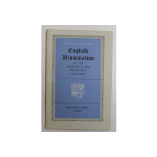 ENGLISH ILLUMINATION OF TEH THITEENTH AND FOURTEENTH CENTURIES , 1954
