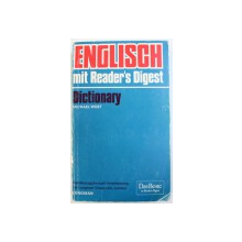 ENGLISH MIT READER'S DIGEST DICTIONARY by MICHAEL WEST , 1976