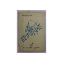 EPIGRAME de GEORGE GEORGESCU - GEORG , 1940 , DEDICATIE*