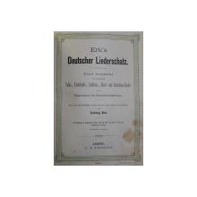 ERK ' S DEUTSCHER LIEDERSCHATZ von LUDWIG ERK , EDITIE INTERBELICA