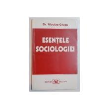 ESENTELE SOCIOLOGIEI de NICOLAE GROSU , 1997