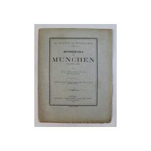 ESPOSITIUNEA DE LA MUNCHEN DIN ANULU 1882 de E.M. BACALOGLO , 1883
