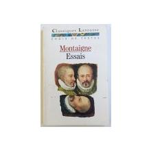 ESSAIS - CHOIX DE TEXTES de MONTAIGNE, 1994