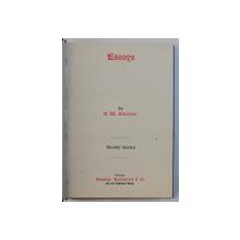 ESSAY by R.W. EMERSON , EDITIE INTERBELICA