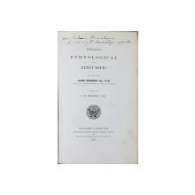 ESSAYS ETHNOLOGICAL AND LINGUISTIC de C. M. KENNEDY - LONDRA, 1861 *DEDICATIE
