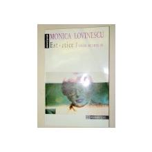 EST-ETICE.UNDE SCURE - MONICA LOVINESCU VOLUMUL 4 ,1994