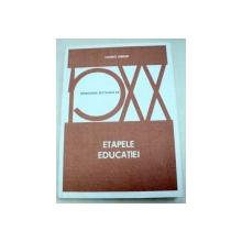 ETAPELE EDUCATIEI-MAURICE DEBESSE  1981