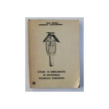 ETERN SI EMBLEMATIC IN DEVENIREA NEAMULUI ROMANESC de DAN HODEA si CORNELIA CALIN  - HODEA , 1994 , DEDICATIE*