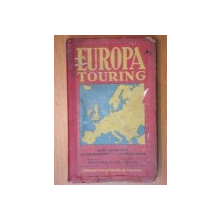 EUROPA TOURING -GUIDE AUTOMOBILE , 1934