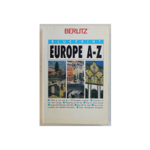 EUROPE A -Z , GHID DE CALATORIE , 1991