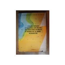 EVOLUTIA NIVELULUI SI CHIMISMULUI APEI FREATICE DIN AMENAJARILE DE IRIGATII IN INTERRELATIE CU MEDIUL INCONJURATOR de NICOLAE GRUMEZA , CRISTIAN KLEPS , CORNELIU TUSA , 1990