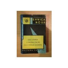 EXECUTAREA CONSTRUCTIILOR CU COFRAJE GLISANTE de T. DINESCU , A. SANDRU , C. RADULESCU , 1963