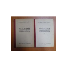 EXECUTAREA CONSTRUCTIILOR IN TRANSPORTUL FEROVIAR , VOL. I - II de D. D. BIZIUCHIN , M. N. LEBEDEV , K. N. KARPOV , S. M. ZMIENCO , M. E. MEITUS , 195