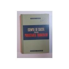 EXEMPLE DE CALCUL PENTRU PROIECTAREA FUNDATIILOR de HUGO LEHR , 1960