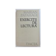 EXERCITII DE LECTURA de MARIAN PAPAHAGI , 1976