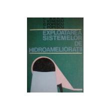 EXPLOATAREA SISTEMELOR DE HIDROAMELIORATII , ED. a II a de C. BARA , I . IONESCU , C. POPESCU , I. POPESCU . Bucuresti 1971