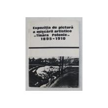 EXPOZITIA DE PICTURA A MISCARII ARTISTICE  ' TANARA POLONIE ' 1895 -1910 , CATALOG , APARUT 1969