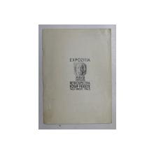 EXPOZITIA RETROSPECTIVA DE SCULPTURA IOSIF FEKETE , 1965