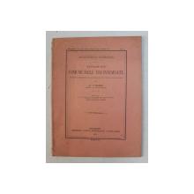 EXTRASE DIN COMUNICARILE MAI INSEMNATE FACUTE de Dr. VICTOR BABES , 1921