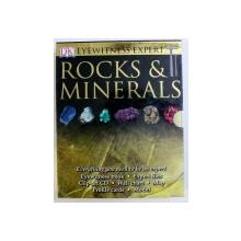 EYEWITNESS EXPERT - ROCKS & MINERALS  - EYEWITNESS BOOK , EXPERT FILES , CLIP - ART CD , WALLCHART , MAP , PROFILE CARDS , MODEL , 2008