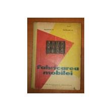 FABRICAREA MOBILEI- BALDOVIN M. SI PLOSCARU O., BUC. 1962
