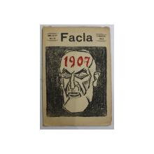 FACLA   - REVISTA , ANUL AL IV -LEA , NO . 10 , 9 MARTIE 1913