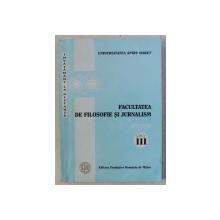 FACULTATEA DE FILOSOFIE SI JURNALISM  - SINTEZE de ACSINTE DOBRE si PAMFIL NICHITELEA  , ANUL III , INVATAMANT LA DISTANTA , 2004