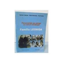FAMILIA LEONIDA , EDITIA A II-a , 2004