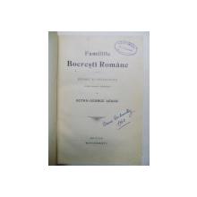 FAMILIILE BOIERESTI ROMANE - ISTORIC SI GENEALOGIE - OCTAV GEORGE LECA
