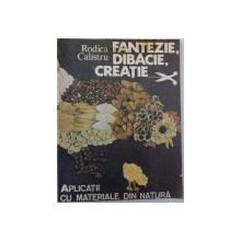 FANTEZIE, DIBACIE, CREATIE - APLICATII CU MATERIALE DIN NATURA de RODICA CALISTRU, 1991