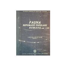 FAUNA REPUBLICII POPULARE ROMANE, INDRUMATOR, PARTEA I-A, 1951